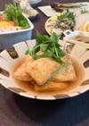 自家製麺つゆで作る・豆腐餡掛け