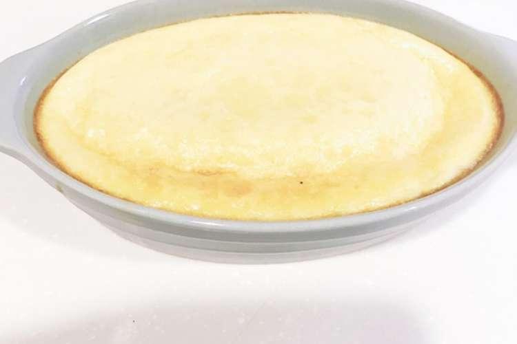 混ぜて焼くだけ 濃厚チーズプリン レシピ 作り方 By こと姉さん クックパッド