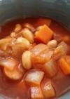 レンジで♪トマト缶不要!大豆のトマト煮