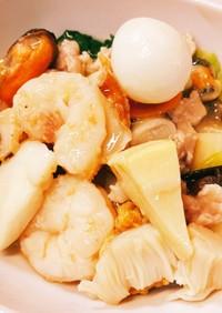 タケノコの八宝菜