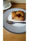 英国発☆林檎とプラムのクランブルケーキ