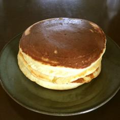 米粉のバナナホットケーキ