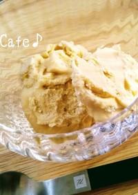 楽々アイスクリーム♪焼芋とマスカルポーネ