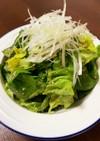 焼肉屋さんの味☆サラダ菜ムンチサラダ