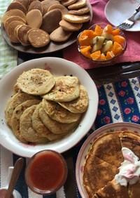 朝食にもお昼ごはんにも♡ポテトパンケーキ