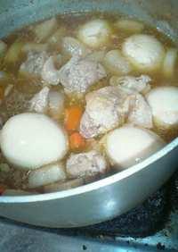 鶏(もも肉)のサッパリ煮