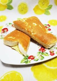 簡単☆ホットケーキ食パン(ホッ食)
