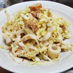 梅マヨキャベツサラダ
