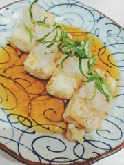 揚げ出し豆腐★揚げない★フライパン簡単の写真