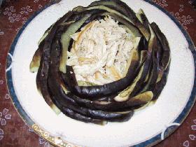 涼拌茄条(リャンバヌチェズ)