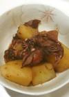 ホタルイカとホクホクジャガイモの煮もの