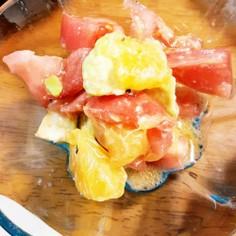 (はっさく消費)アボカドトマトサラダ