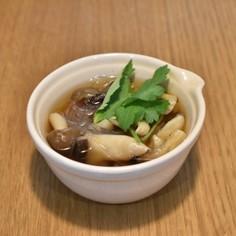 ヘルシーきのこスープ