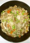 鶏肉炊き込みご飯♪簡単ごぼう3合