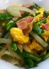 ふわふわ卵と春野菜のクレージーソルト炒め