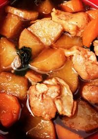 すき焼きのタレとマイヤー圧力鍋で簡単煮物
