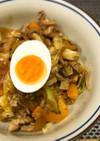 サッポロ一番みそラーメン★汁なし回鍋肉麺