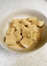 小麦粉ミルクきなこ餅