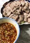 豚薄切り肉で簡単雲白肉