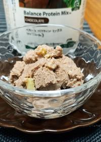 チョコプロテイン豆腐アイス(フープロ)