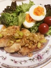 簡単20分◎フライパンで揚げない焼油淋鶏の写真