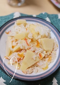 ☆筍と桜えびの炊き込みご飯☆