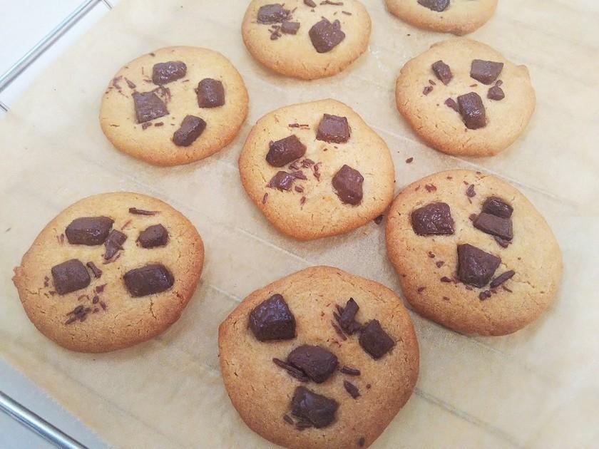 自家製HMでチャンククッキー