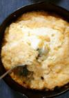 スキレットで焼くだけ 豆腐の山芋ステーキ