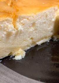 水切りヨーグルト チーズケーキ