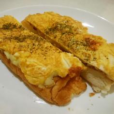 ★お手軽エッグチーズトースト★