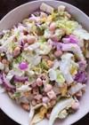 粗挽きマスタードマヨのクルトン豆サラダ