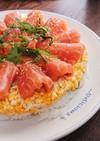 (18㎝型1台780円)お寿司ケーキ