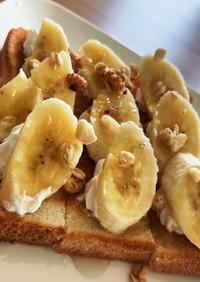 メープルバナナトースト