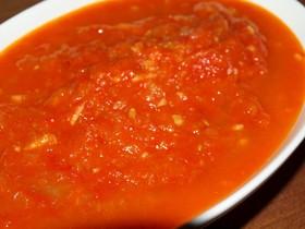 生トマトで簡単自家製トマトソース☆