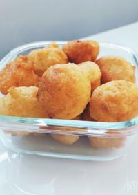 ビニール袋で簡単♡豆腐ハードーナッツ
