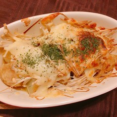❄︎新じゃがえのきのチーズバター焼き❄︎