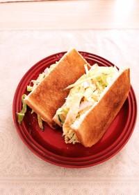 超簡単!じいちゃん直伝 朝食サンドイッチ