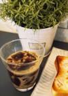 とろん♪ゼラチン風な寒天コーヒーゼリー
