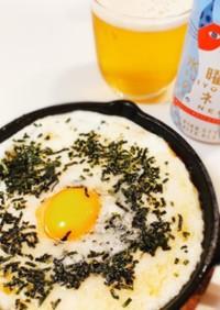 簡単おつまみ♡鳥貴族ふんわり山芋の鉄板焼