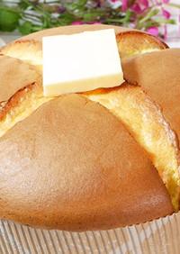 孤独のグルメ風 カステラスフレパンケーキ