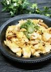 簡単炒り豆腐♪具は椎茸とちりめんジャコ☆
