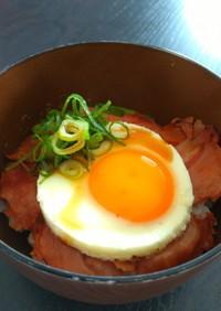 焼き豚玉子飯のタレ