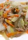 白菜とツナ缶の炒め