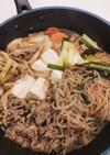 すき焼き風〜肉豆腐
