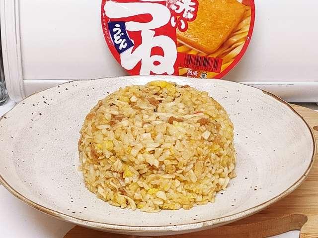 カップ ヌードル チャーハン レシピ