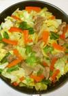 豚バラ肉キャベツの中華風炒め♪簡単