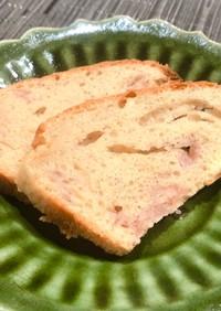 バター不要!冷凍イチゴのパウンドケーキ