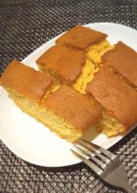プリンとホイップクリームのパウンドケーキ