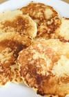 インスタント麺で作るパンケーキ