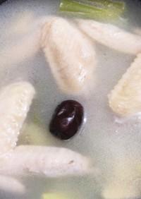 簡単★参鶏湯風スープ